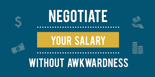 NEW JOB OFFER BUT LOW SALARY? NEGOTIATE!